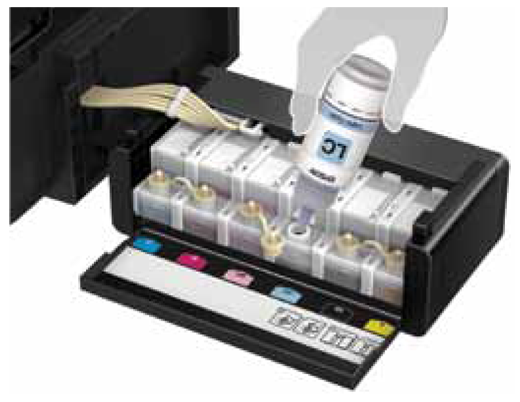 Epson L805 Wi Fi Photo Ink Tank Printer Ink Tank System