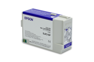 Epson SJIC15P Ink Cartridges for ColorWorks C3400