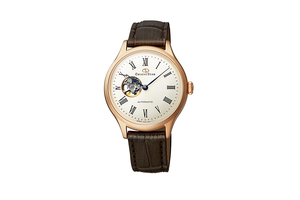 ORIENT STAR: Mechanical Classic Watch, Leather Strap - 30.5mm (RE-ND0003S)