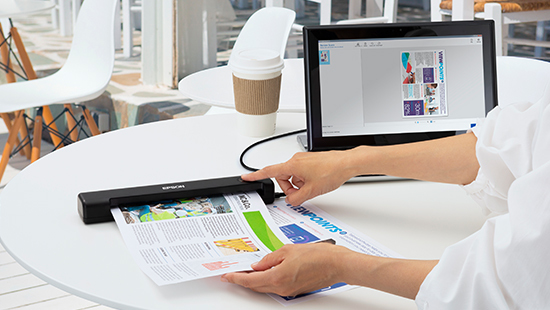 Epson WorkForce ES-50 Portable Sheetfed Document Scanner