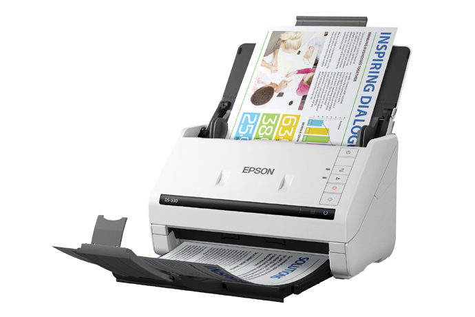 Epson WorkForce DS-530 A4 Duplex Sheet-fed Document Scanner