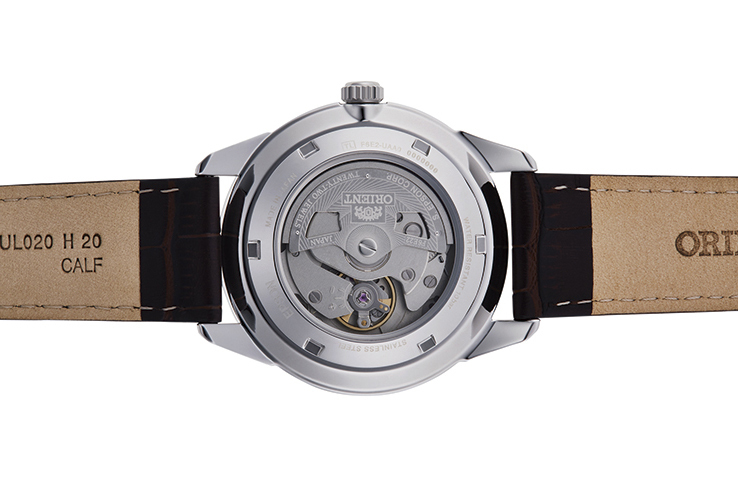 ORIENT: Mechanical Contemporary Watch, Leather Strap - 40.8mm (RA-AX0008S)