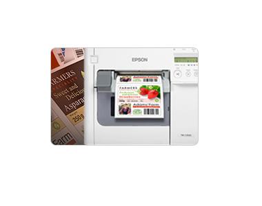 commercial u0026 business label printer makers epson us