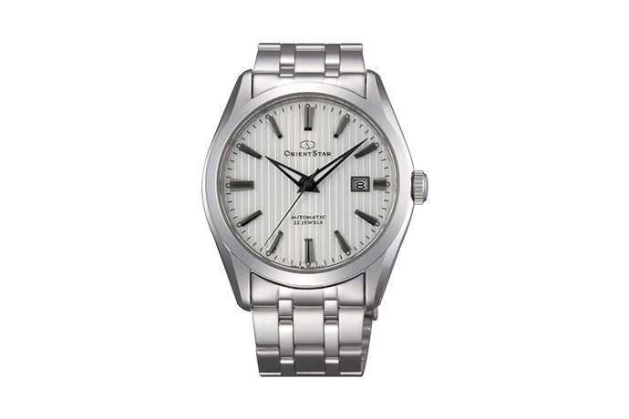 ORIENT STAR: Mechanical Contemporary Watch, Metal Strap - 41.0mm (DV02003W)