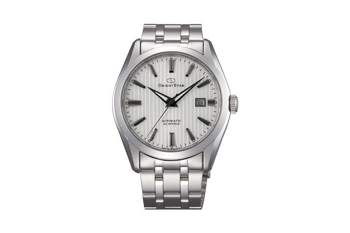 ORIENT STAR: Mechanical Contemporary Watch, Metal Strap - 41.0mm (DV02003W)