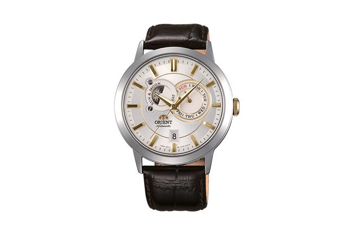 ORIENT: Mechanisch Modern Uhr, Leder Band - 41.5mm (ET0P004W)
