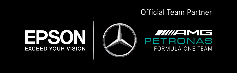 Official Team Partner - EPSON | MERCEDES AMG PETRONAS MOTORSPORT