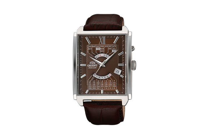 ORIENT: Mechanical Contemporary Watch, Leather Strap - 36.0mm (EUAG004T)