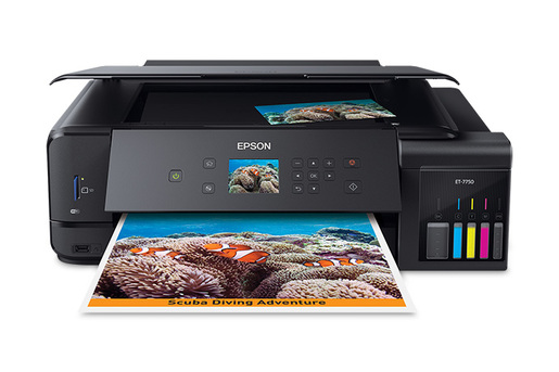 ET-7750 EcoTank All-in-One Printer - Refurbished