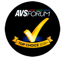 AVS Forum Top Choice 2020