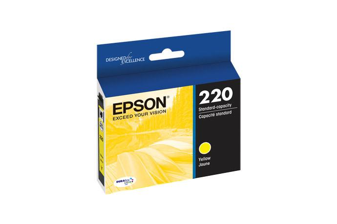 Epson 220, Yellow Ink Cartridge