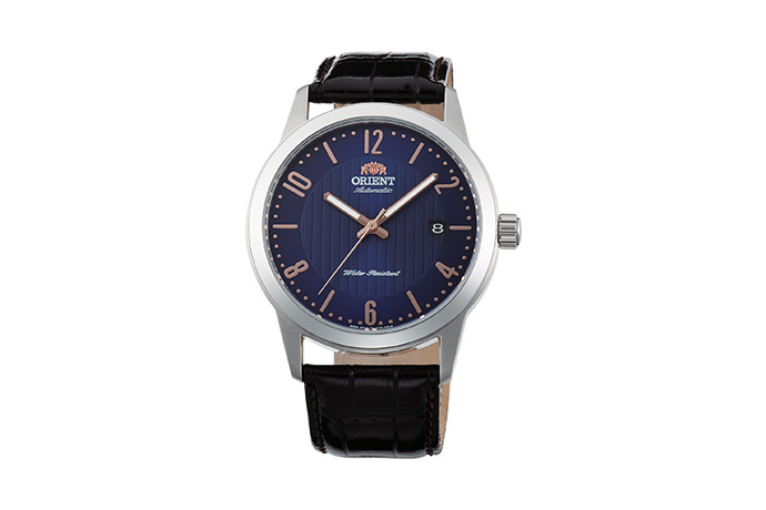ORIENT: Mechanical Contemporary Watch, Leather Strap - 41.0mm (AC05007D)