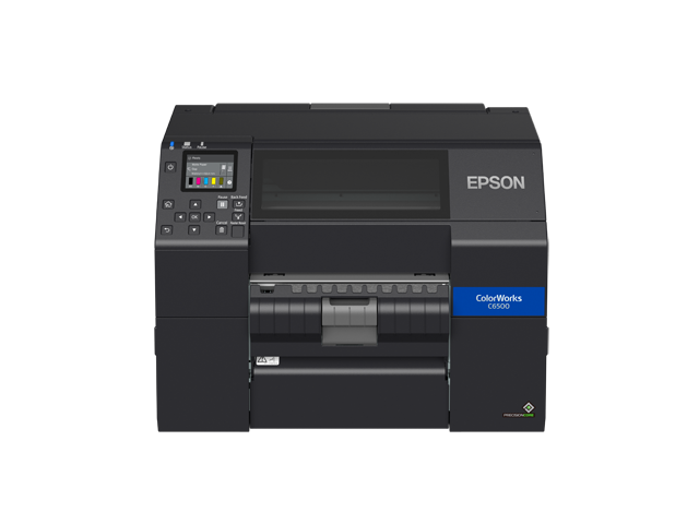 Epson ColorWorks C6550P Peel-and-Present Colour Label Printer