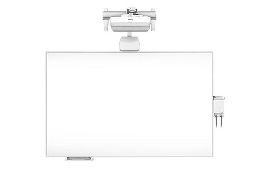 BrightLink Pro 1460Ui Interactive Display with All in One Whiteboard & Wall Mount