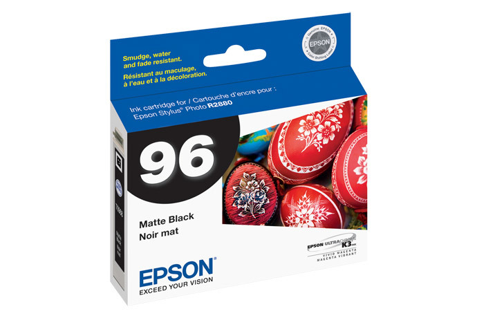 Epson 96, Matte Black Ink Cartridge