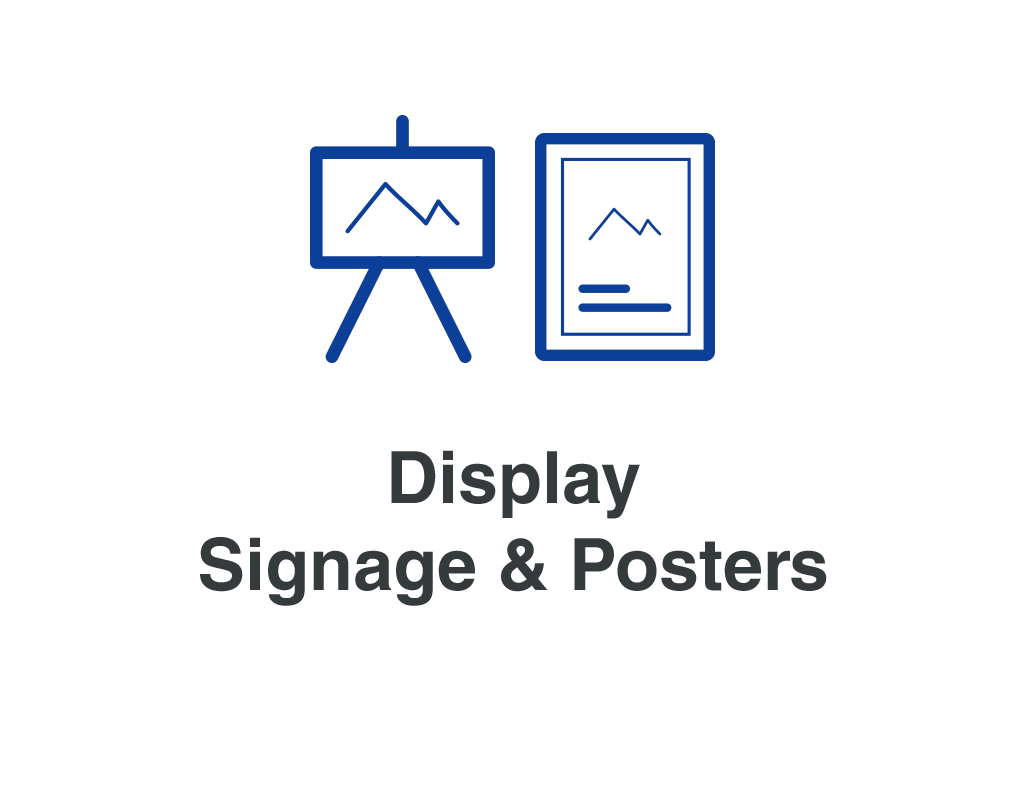 Display Signage & Posters