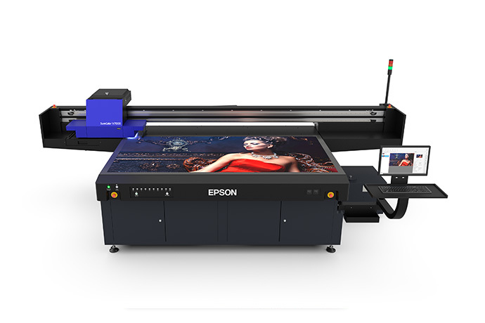 SureColor V7000 10-Color 4' x 8' UV Flatbed Printer