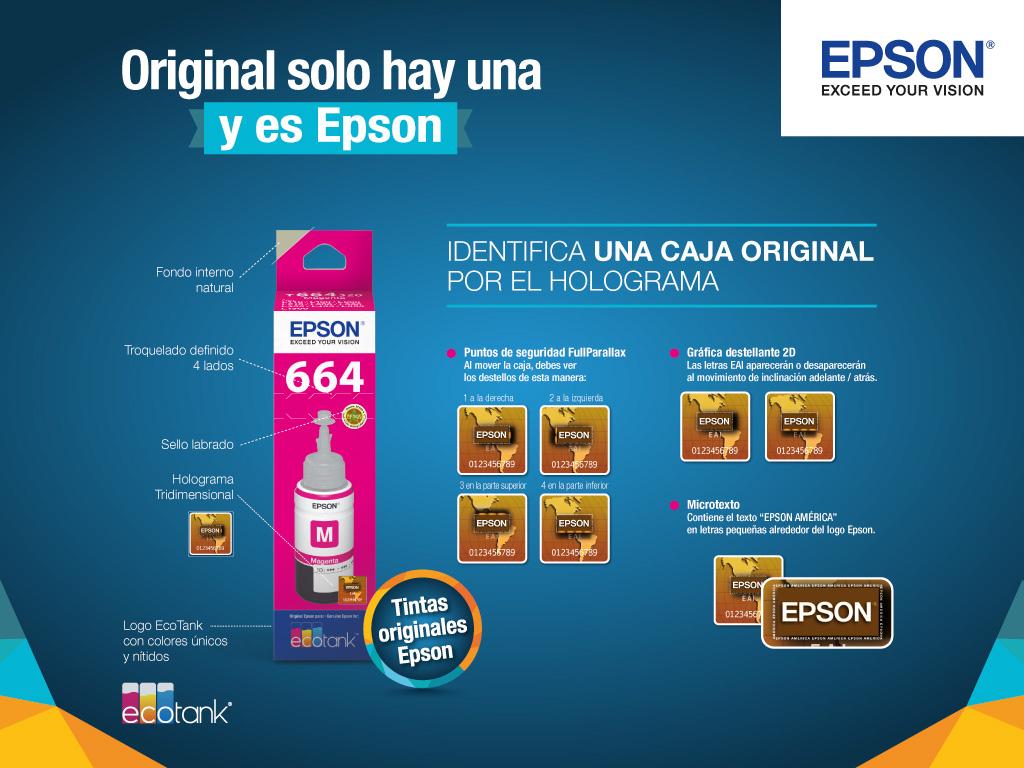 Epson Ecotank L475 Inyeccin De Tinta Impresoras Para El T664 Calidad Con Tintas Originales Obtn Siempre La Mejor