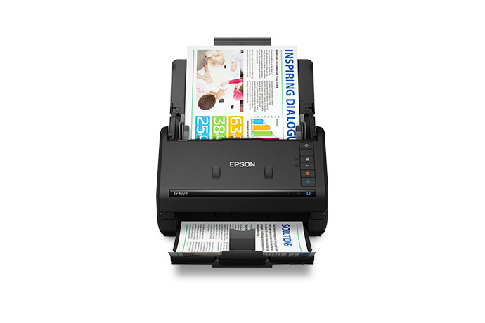 WorkForce ES-400 II Duplex Desktop Document Scanner