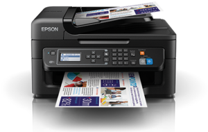 how to connect epson nx230 printer to wifi