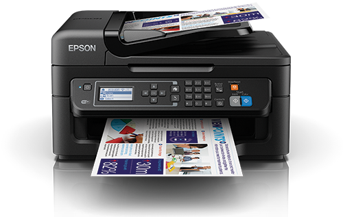 Epson WorkForce WF-2631 Wi-Fi All-in-One Inkjet Printer