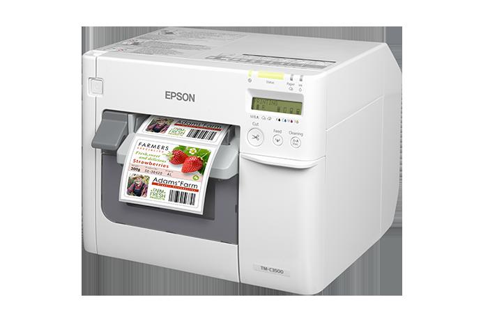 TM-C3520 Inkjet Label Printer