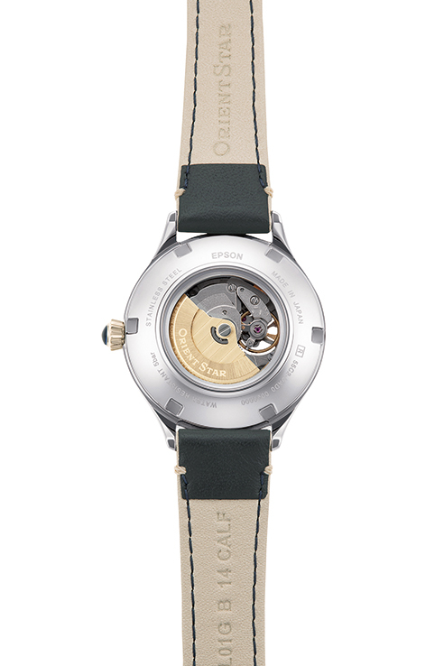 ORIENT STAR: Mechanical Classic Watch, Leather Strap - 30.5mm (RE-ND0011N)