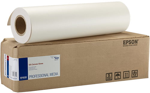 "Epson GS Canvas Glossy 24"" x 75' 1 Roll"