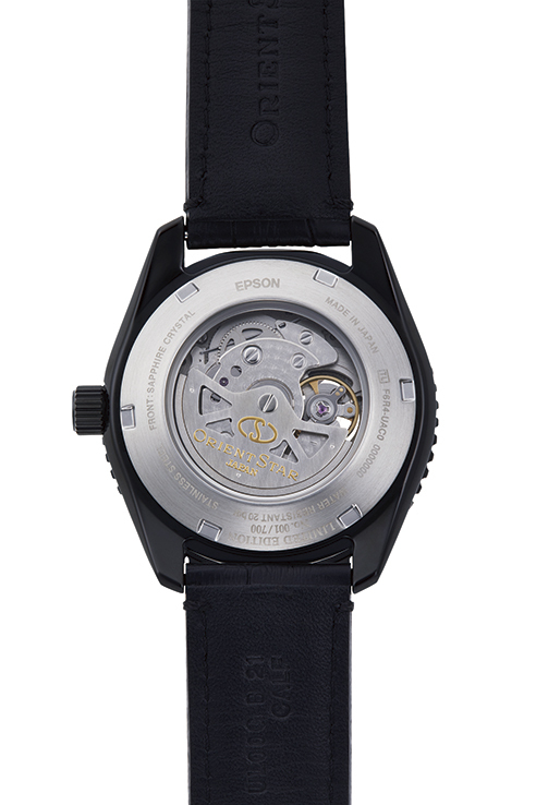 ORIENT STAR: Mechanical Sports Watch, Leather Strap - 43.2mm (RE-AT0105B)