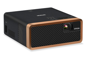 EF-100 Mini-Laser Streaming Projector with Android TV - Black