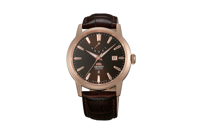 ORIENT: Mechanical Contemporary Watch, Leather Strap - 41.0mm (AF05001T)