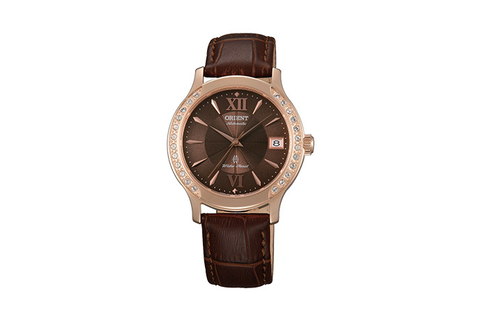 ORIENT: Mechanical Contemporary Watch, Leather Strap - 36.0mm (ER2E001T)