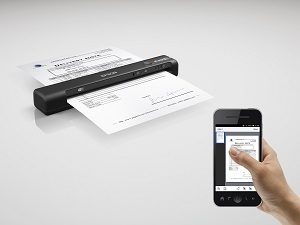 Epson WorkForce ES-60W WiFi Portable Document Scanner