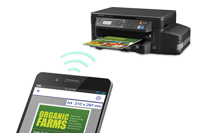Epson Expression ET-3600 EcoTank All-in-One Supertank Printer