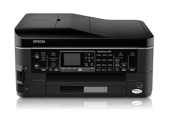 epson workforce 645 all in one printer inkjet printers for rh epson com Epson Workforce 545 Printer Cartridges Epson Workforce 545 Installation
