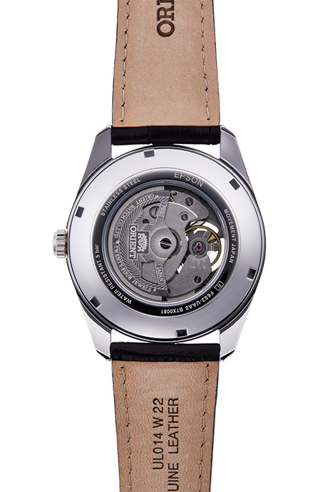 ORIENT: Mechanical Contemporary Watch, Leather Strap - 40.8mm (RA-AR0005Y)