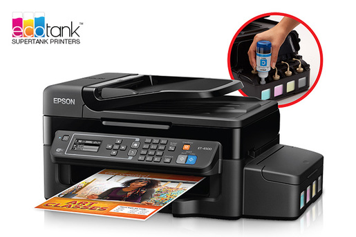 WorkForce ET-4500 EcoTank All-in-One Printer