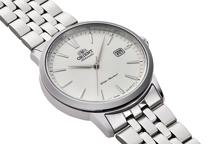 ORIENT: Mechanical Contemporary Watch, Metal Strap - 41.6mm (RA-AC0F02S)