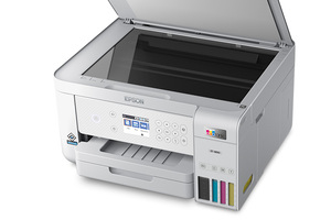 EcoTank ET-3830 Wireless Color All-in-One Cartridge-Free Supertank Printer with Scan, Copy, Auto 2-sided Printing and Ethernet