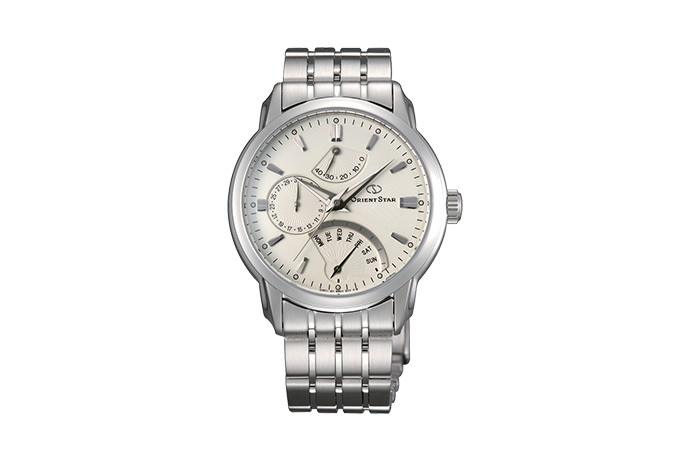 Orient Star: Mecanice Contemporan Ceas, Metal Şnur - 39.5mm (DE00002W)