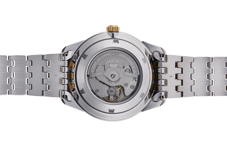 Orient: Mecanice Contemporan Ceas, Metal Şnur - 38.5mm (AG03001W)