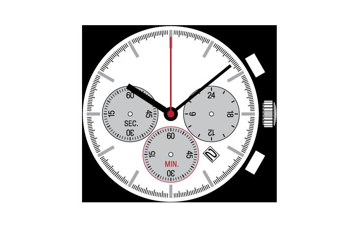 Center Chronograph  YM1G