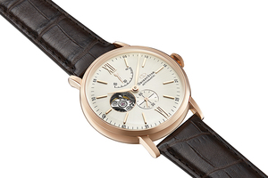 ORIENT STAR: Mechanical Classic Watch, Leather Strap - 40.0mm (RE-AV0001S)