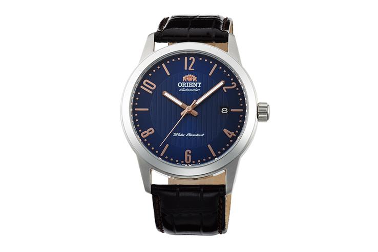 ORIENT: Mechanisch Modern Uhr, Leder Band - 41.0mm (AC05007D)