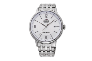 ORIENT: Mechanical Contemporary Watch, Metal Strap - 42.4mm (RA-AC0J10S)