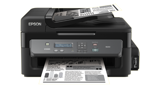 Epson WorkForce M200 (110V) All-in-One Printer