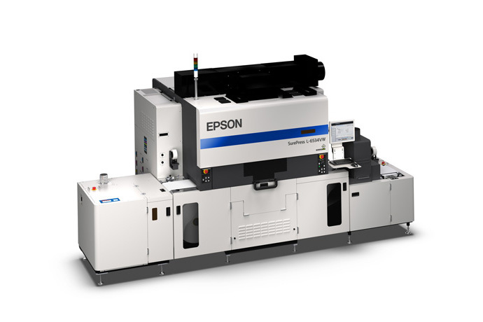Epson SurePress L-6534VW Digital Label Press