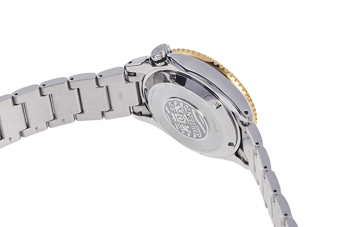 ORIENT: Mechanical Sports Watch, Metal Strap - 43.4mm (RA-EL0003B)