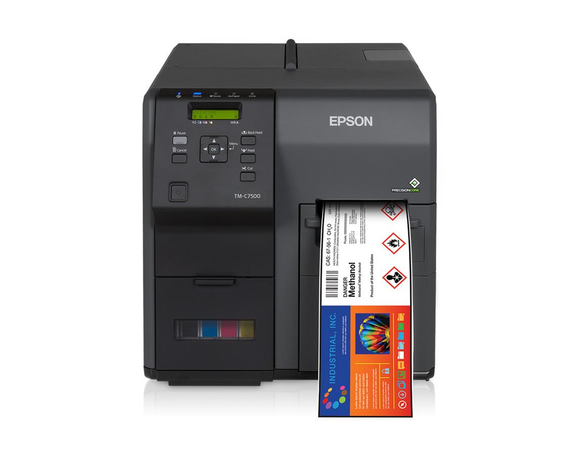 Color printing label maker - Colorworks C7500 Color Label Printer