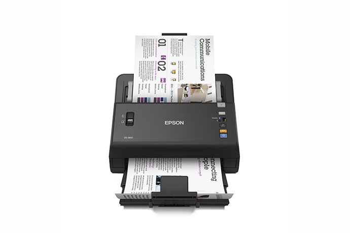 Epson workforce ds 860 document scanners scanners for work epson workforce ds 860 reheart Images